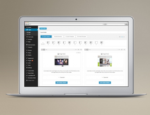 WordPress User Interface
